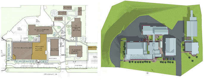Glide High School Master Plan Photo